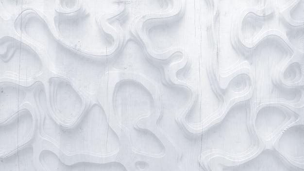 Relief abstrakcyjna tekstura wykonana z drewna, kamienia lub innego materiału. ilustracja, renderowanie 3d.