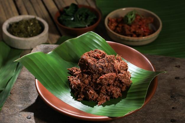 Rendang padang indonezyjski foo