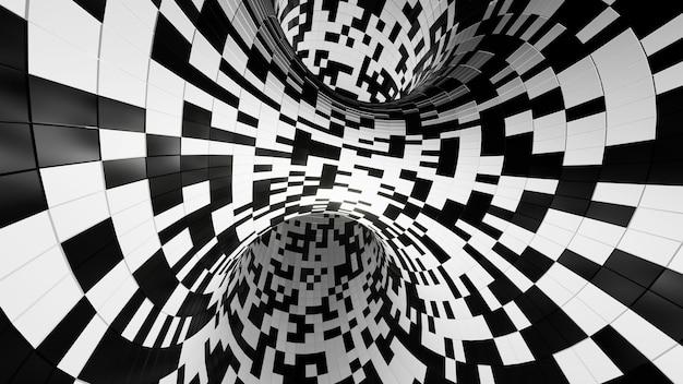 Renderowania 3d, abstrakcyjne tło