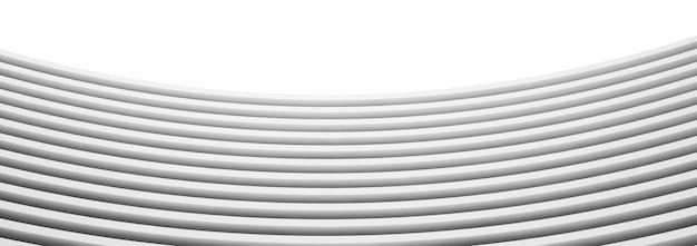 Renderowania 3d białe tło abstrakcyjna.
