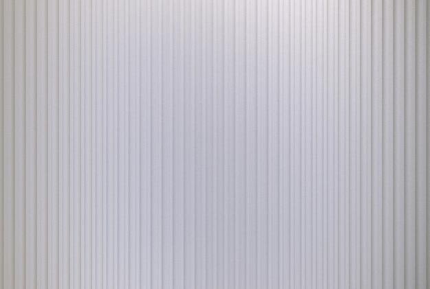 Renderowania 3d. pusta nowoczesna srebrna pionowa linia panelu lub tekstura ściany kontenera.