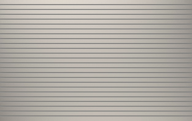 Renderowania 3d. rolkowe metalowe migawki drzwi tekstury powierzchni ściany tło.