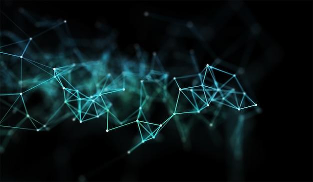 Renderowanie 3d banera z komunikacją sieciową o konstrukcji low poly