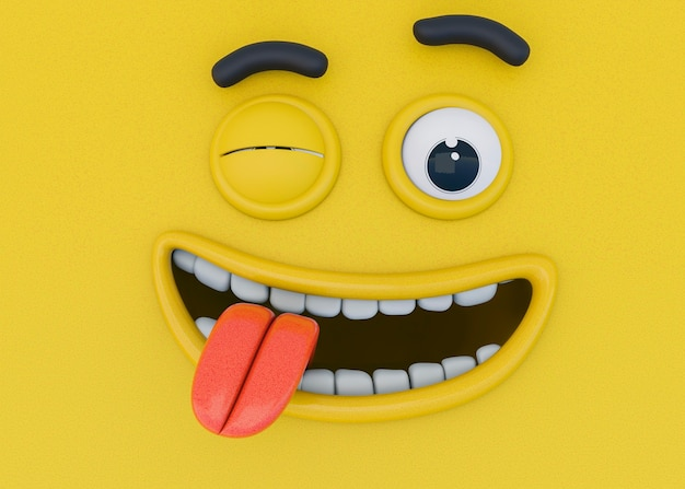 Renderowanie 3d Emocji Darmowe Zdjęcia
