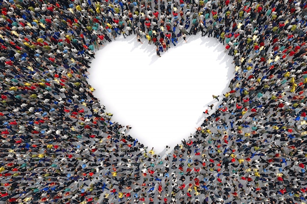Renderowanie 3d miłości