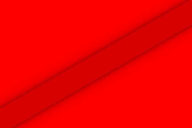 Renderowanie 3d. minimalistyczny ukośny czerwony panel ściany projekt sztuka tło.