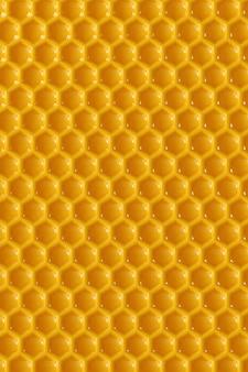 Renderowanie 3d o strukturze plastra miodu
