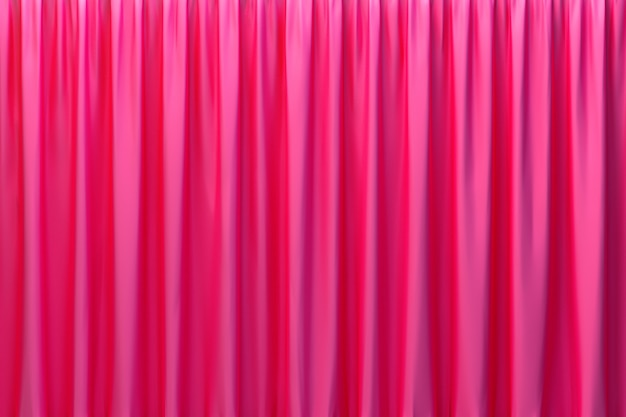 Renderowanie 3d, streszczenie czerwone tło luksusowe tkaniny lub płynna fala lub faliste fałdy grunge tekstury jedwabiu satynowy aksamitny materiał lub luksusowe tło