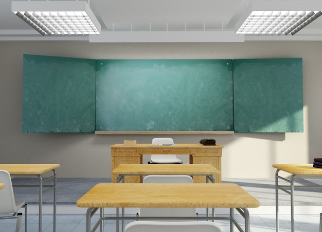Renderowanie 3d w klasie szkolnej