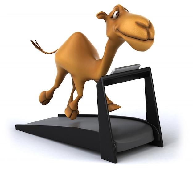 Renderowanie 3d wielbłąda