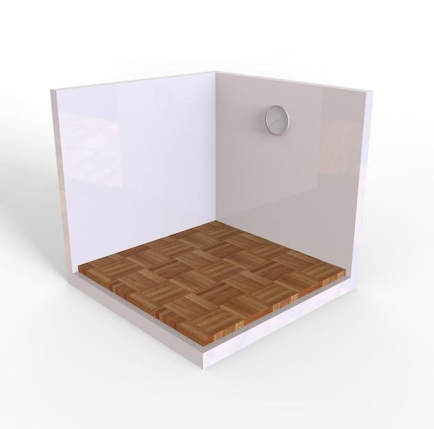 Renderowanie podłogi drewnianej