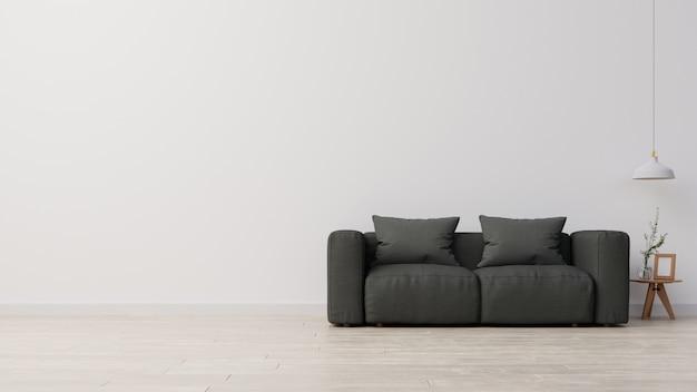 Renderowanie wnętrza salonu