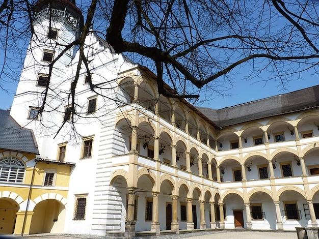 Renesansowa architektura budynek