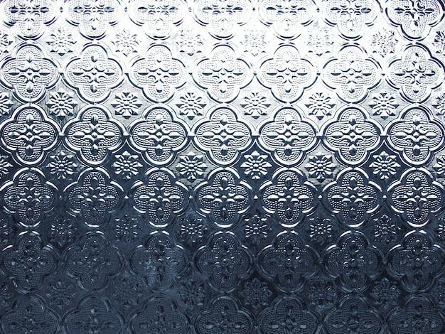 Retro brokat wzór tekstury szkła okna