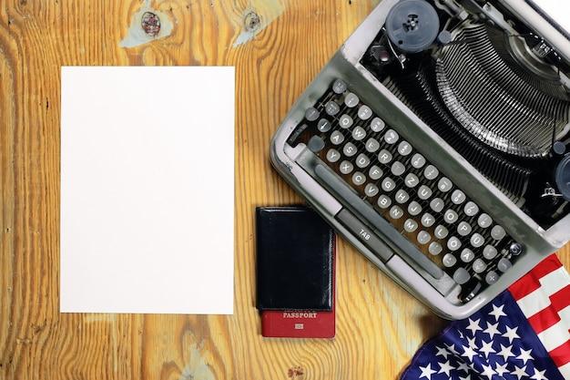 Retro pulpit do pisania