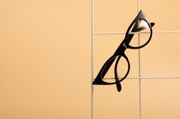Retro zobacz okulary retro z plastikową ramką