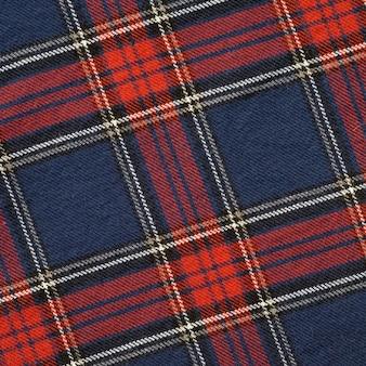 Rewolucjonistka i marynarki wojennej szkocki deseniowy tekstury tkaniny tło