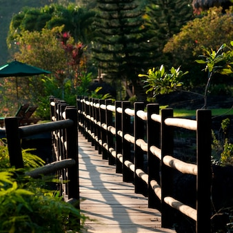 Rezerwat górski pine ridge, most