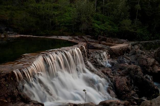 Rezerwat górski pine ridge, wodospad