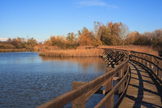 Rezerwat przyrody kanału valle novo