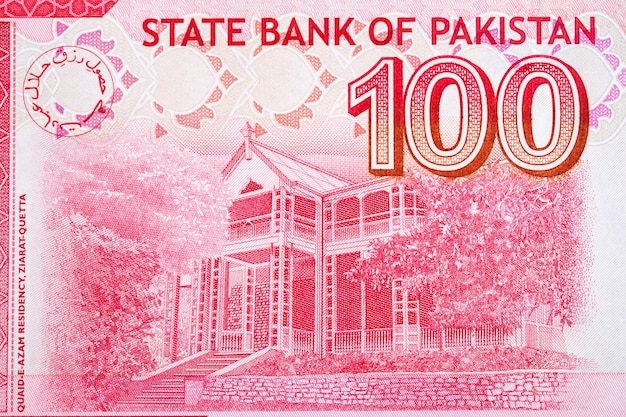 Rezydencja quaideazam w ziarat z pakistańskich pieniędzy