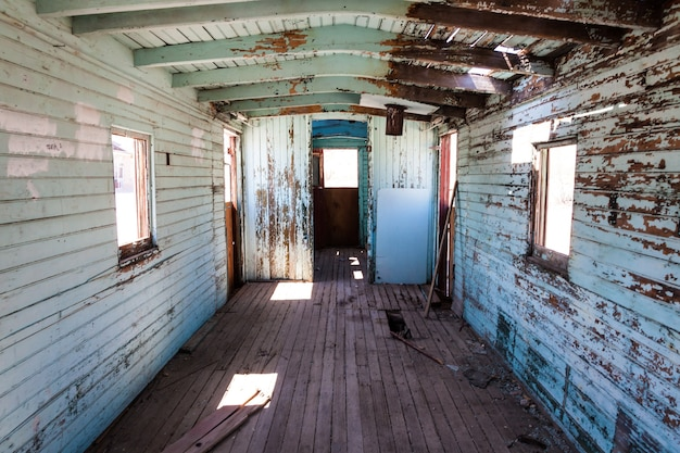 Rhyolite to miasto duchów w hrabstwie nye w amerykańskim stanie nevada