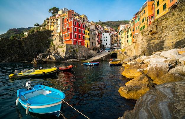 Riomaggiore, cinque terre - włochy