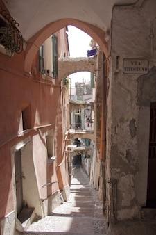 Riviera miasto liguria pigna stary la sanremo