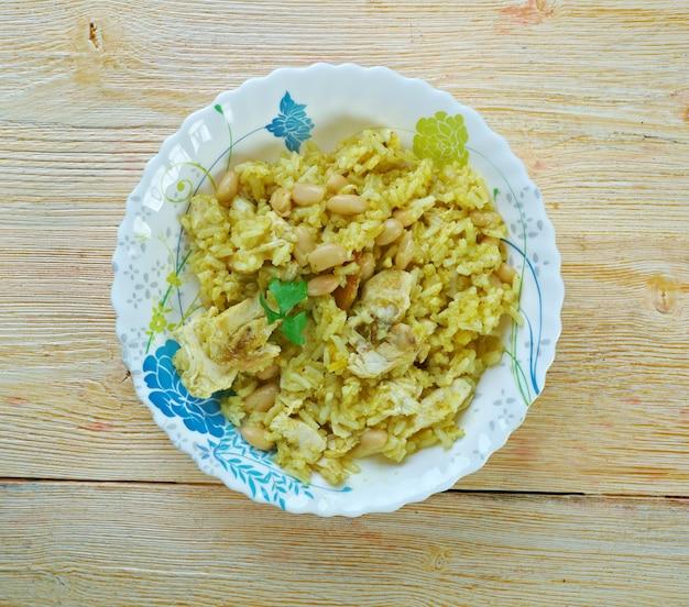 Riz des iles - kreolskie danie z ryżu i kurczaka