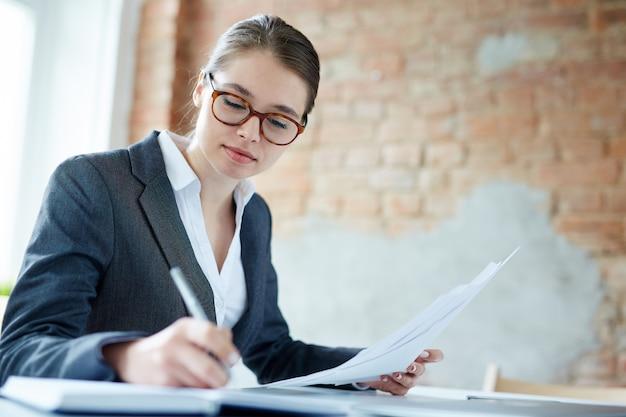 Robienie notatek biznesowych