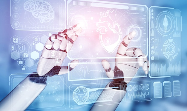 Robot lekarski i technologia biomedyczna