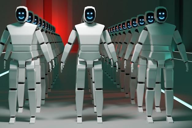 Roboty w szeregach