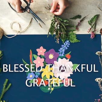 Rocznica wdzięczności uhonorowany wdzięczny błogosławiony