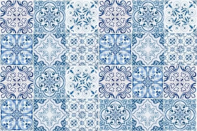 Rocznik ceramicznych płytek ścienna dekoracja. tureckie ceramiczne płytki izolują tło
