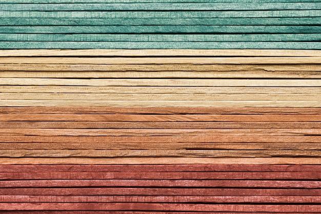 Rocznik tęczy koloru tekstury drewniany tło