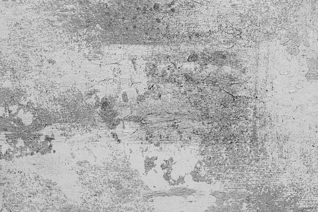 Rocznika czarny i biały betonowy tło