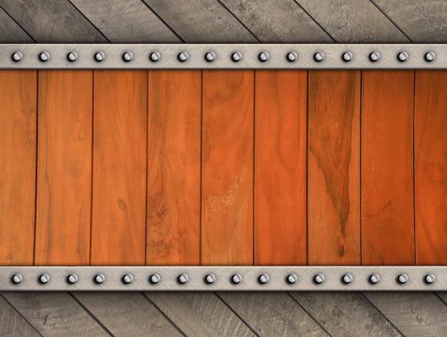 Rocznika drewna tło z dekoracyjnym drewnem dla szablonu