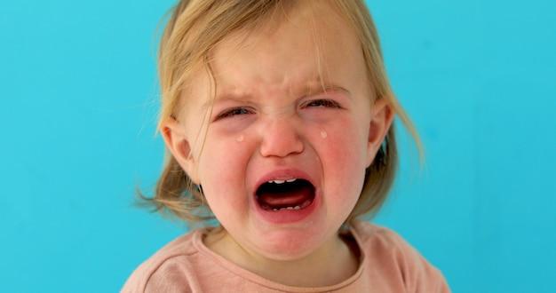 Roczny płacz dziecka