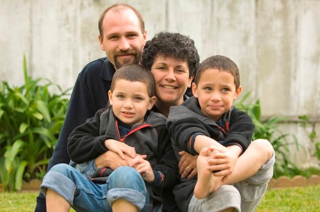 Rodzina czterech