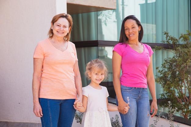 Rodzina lgbt. matki i przybrana córka