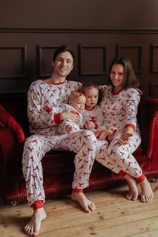 Rodzina na boże narodzenie