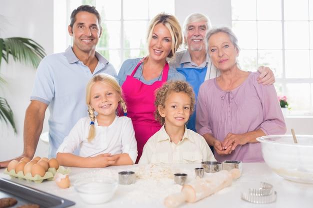 Rodzinne wspólne gotowanie