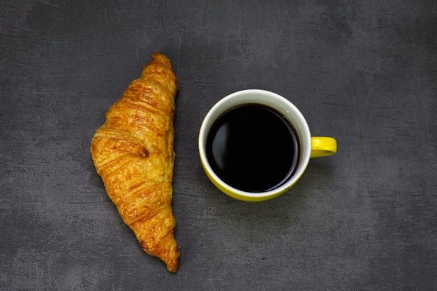 Rogalik i kawa