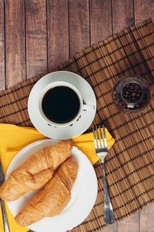 Rogaliki, poranne śniadanie