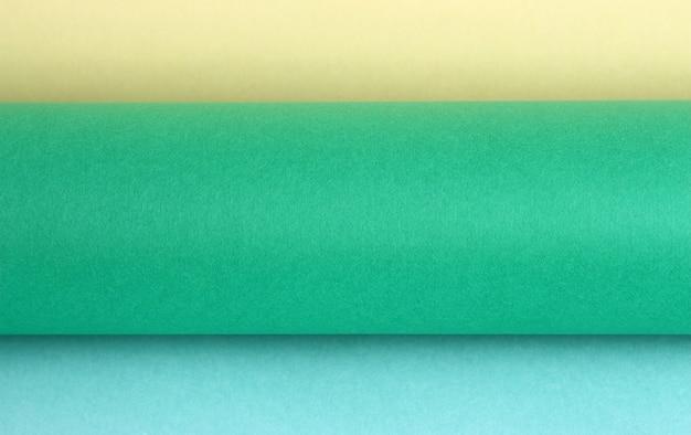 Role kolorowego tła papieru