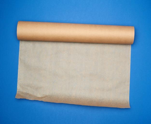 Rolka brązowy pergamin, kopia przestrzeń