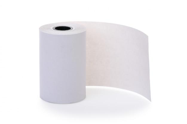 Rolka czystego papieru termicznego do bankomatu