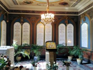 Romanov rodzina grobowce rosja cmentarz