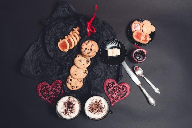 Romantyczne śniadanie.
