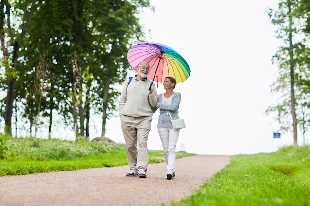 Romantyczny spacer